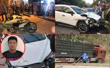 Hàng loạt vụ tai nạn giao thông nghiêm trọng do tài xế sử dụng rượu bia