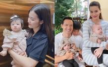 Đông Nhi khoe ảnh con gái đáng yêu, Hà Hồ - Kim Lý gây sốt với ảnh gia đình 5 người