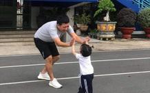 """Nhìn hình ảnh của cha con Trường Giang dịp cuối tuần, công chúng mới hiểu sao Nhã Phương cứ than bị """"ra rìa"""""""