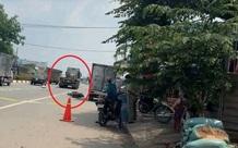Người phụ nữ đi xe máy bị xe container tông tử vong