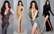 """Khánh Vân """"nhá hàng"""" 4 thiết kế dạ hội sẽ chinh chiến cho đêm Bán kết Miss Universe 2021"""