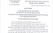 Kim Sơn – Ninh Bình: Vì sao không đủ năng lực, Công ty Xuân Triều vẫn trúng gói thầu tại xã Cồn Thoi?