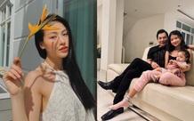 Phương Khánh đẹp tựa nữ thần, Trần Bảo Sơn lần đầu khoe ảnh hai con gái