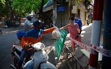 Ảnh: 50 chốt 'vùng xanh' phòng chống COVID-19 đầu tiên tại Hà Nội