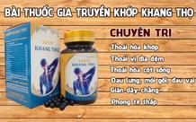 Cục ATTP cảnh báo thông tin quảng cáo của TPBVSK Khớp Khang Thọ