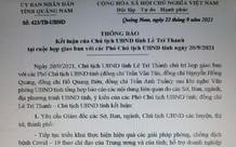Quảng Nam: UBND tỉnh yêu cầu rà soát dự án do Công ty Bắc Hội An làm chủ đầu tư