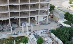 Hà Nội: Bất chấp Chỉ thị 16, Dự án QMS Tower 2 vẫn mở cửa để công nhân làm việc