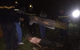 Hà Nội: Thiếu nữ nhảy cầu tự tử nhưng rơi trúng bãi bồi, bị chấn thương đốt sống lưng