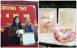 Các giáo viên trường cấp 3 ở Nghệ An từ chối nhận hoa ngày 20/10 để ủng hộ bà con miền Trung