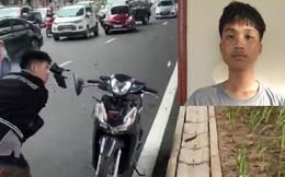 Nam thanh niên đập phá xe máy sau va chạm giao thông ở Hà Nội đối diện mức phạt nào?