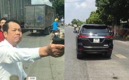 Người đàn ông rút súng dọa bắn tài xế ở Bắc Ninh có thể bị xử lý hình sự