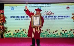 Xác nhận Kỷ lục Việt Nam và Kỷ lục thế giới về Khoa học công nghệ cho nhà khoa học Hoàng Đức Thảo