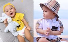 """Quý tử 1 tuổi nhà cầu thủ Duy Mạnh gây bất ngờ với hình ảnh bụ bẫm, ra dáng một """"hot kid"""" với lượt theo dõi khủng trên Instagram"""