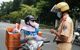 Hà Nội dừng hoạt động shipper công nghệ