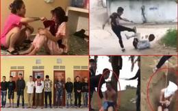 Hàng loạt vụ bạo hành người rồi quay clip khiến dư luận bức xúc