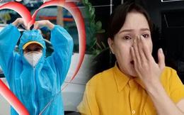 Việt Hương: Chân chồng tôi sưng quá, mưng mủ nhiễm trùng, đi không nổi nên nằm một chỗ rồi