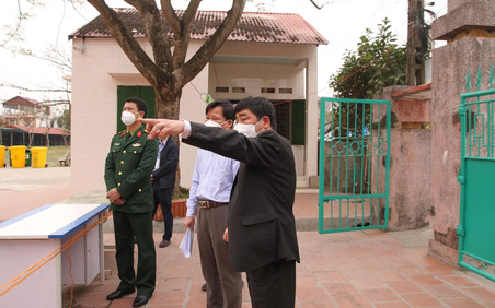 Các doanh nghiệp ở huyện Cẩm Giàng chỉ hoạt động khi đáp ứng đủ các tiêu chí phòng chống dịch