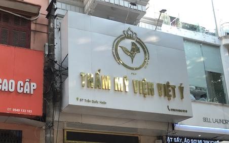 Bất chấp lệnh cấm vì COVID-19, Thẩm mỹ viện Việt Ý vẫn hoạt động