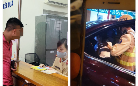 Hà Nội: Phạt hơn 40 triệu đồng tài xế SantaFe ngủ trên xe, không chịu đo nồng độ cồn