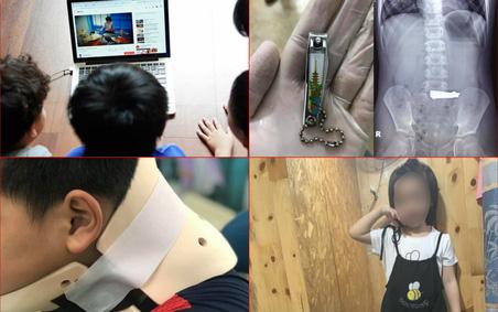 Nhiều trẻ thương vong khi học theo trò nguy hiểm trên mạng xã hội