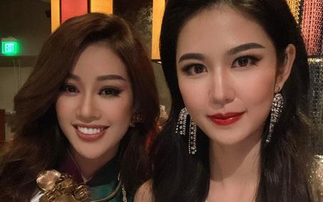 Khánh Vân diện áo dài đọ sắc bên Hoa hậu Trung Quốc, nhan sắc liệu có lấn át đối thủ?