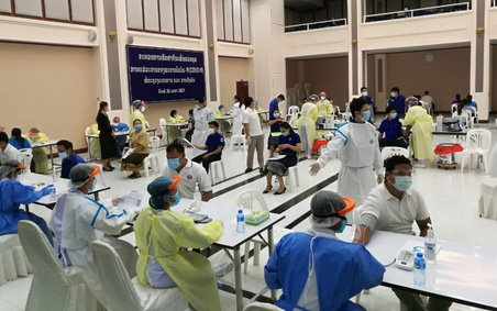 Chuyên gia y tế Việt Nam nỗ lực hỗ trợ Lào phòng, chống dịch COVID-19
